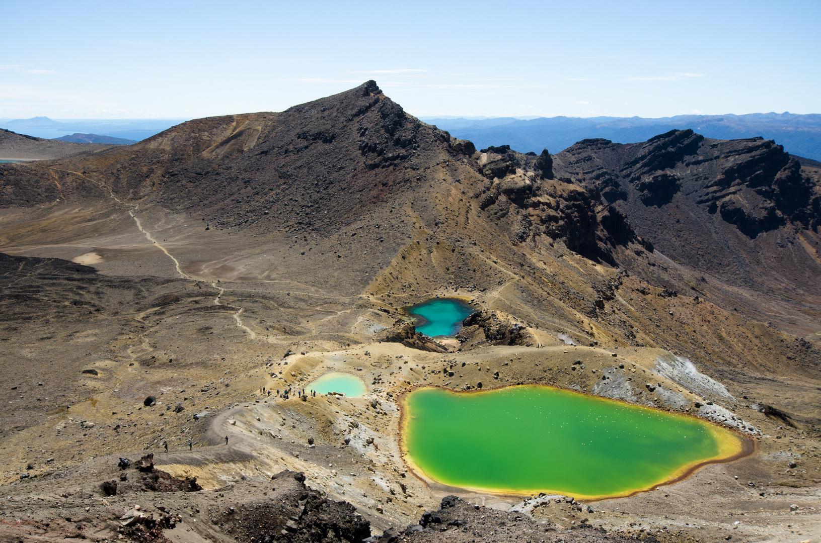Emerald Lakes - Tongariro National Park