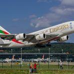 Emi A380 Take Off Zürich