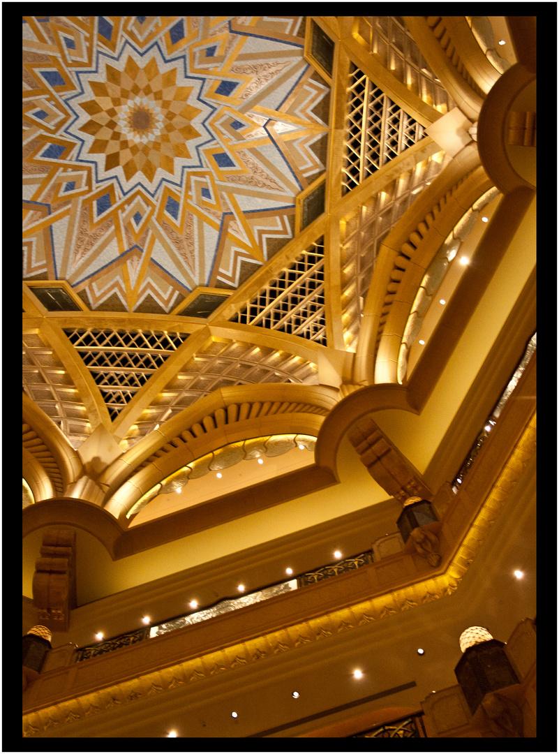 Emirate Palace - Innenansicht
