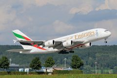 Emirates Airlines Airbus A380 A6-EDT