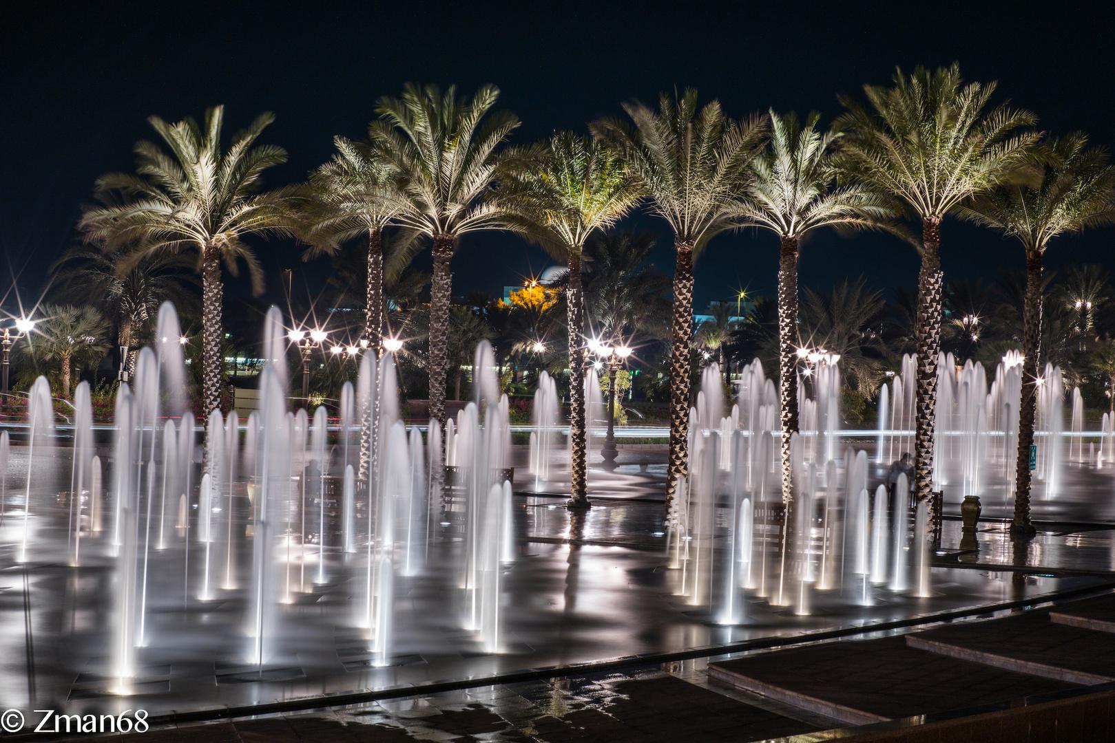 Emirates Palace Hotel Fountain