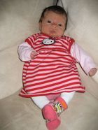 "Emline en robe ""Hello Kitty"""