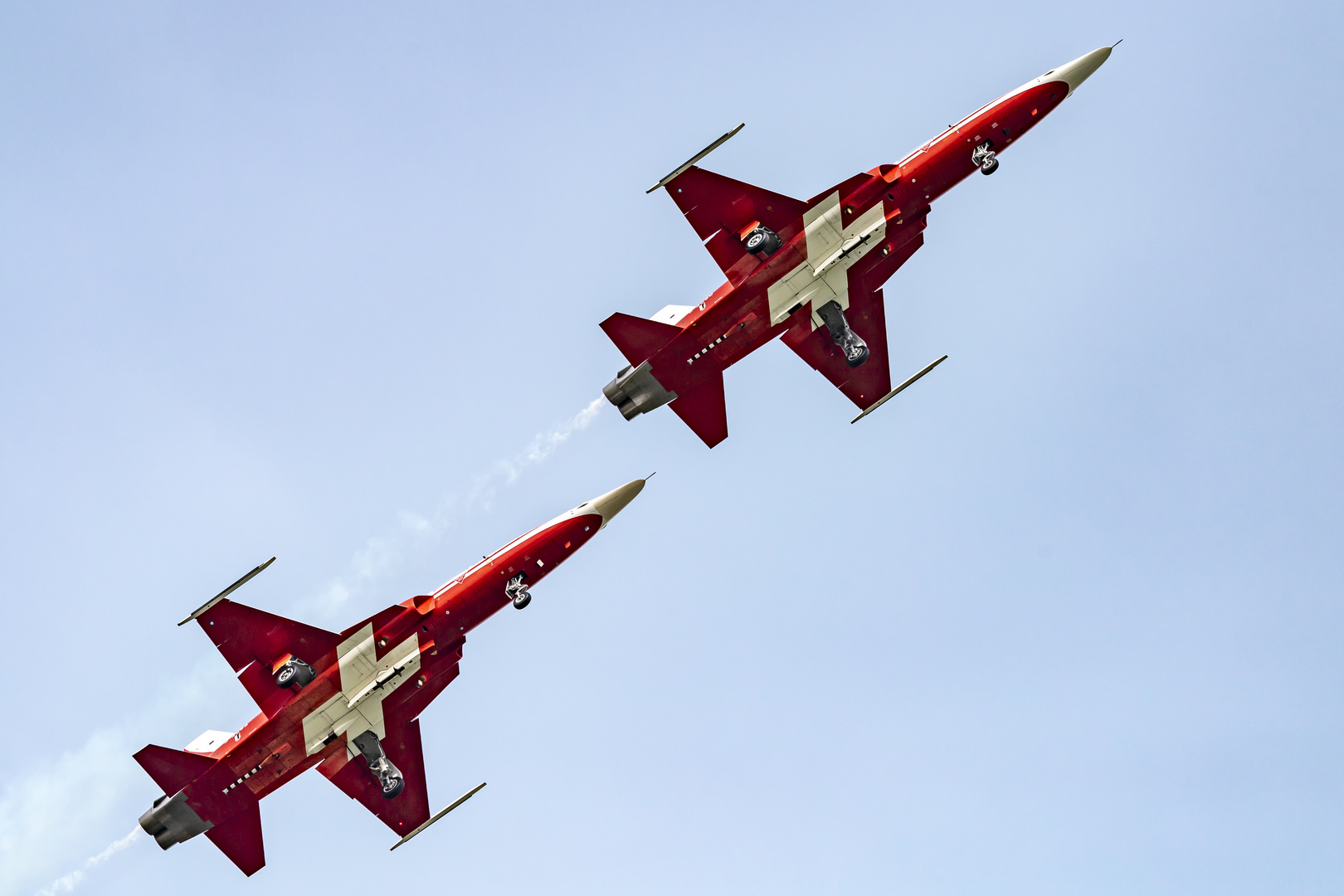 Emmen, Air Base, Patrouille Suisse, F-5E Tiger II