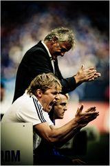 Emotionen auf Schalke...