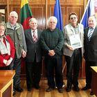 Empfang beim Bezirksbürgermeister in Kaunas ...