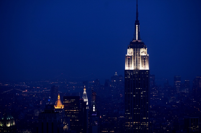 Empire from the Rockefeller tower
