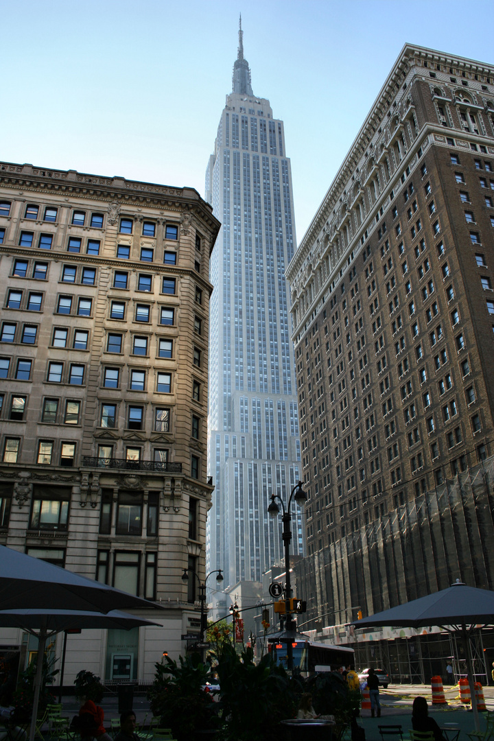 Empire State Building im Morgenlicht