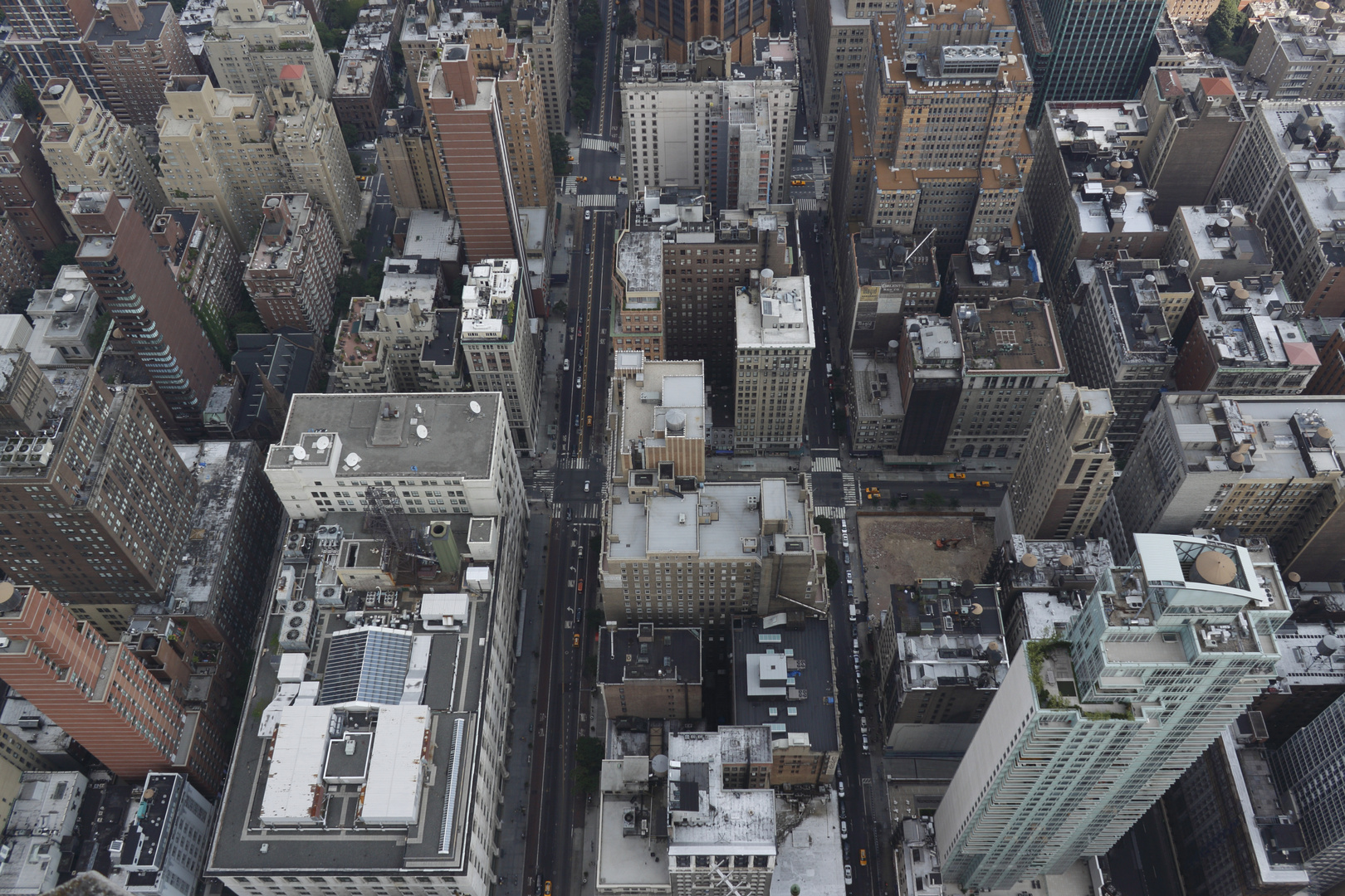 Empire State Building Richtung Madison Ave und Park Ave