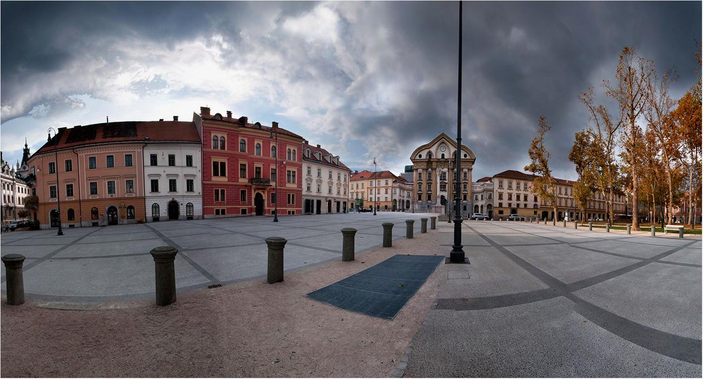Empty Ljubljana