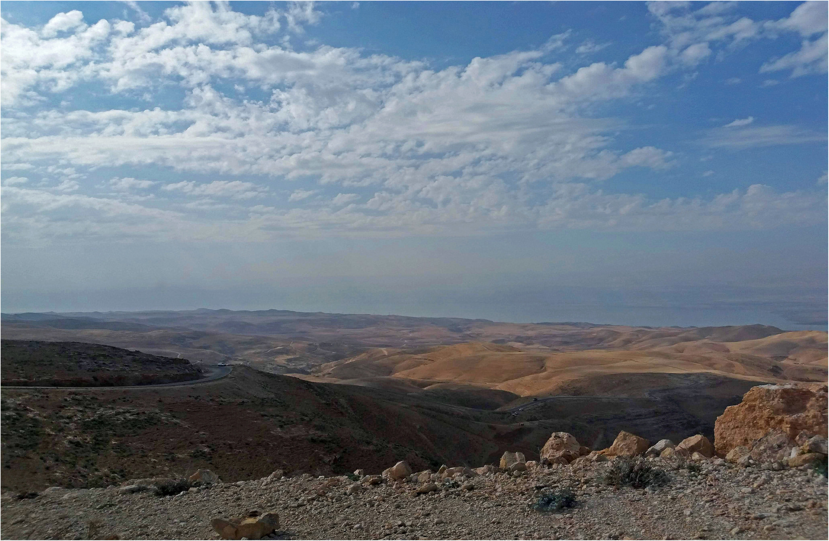 En allant vers la Mer Morte  - Jordanie