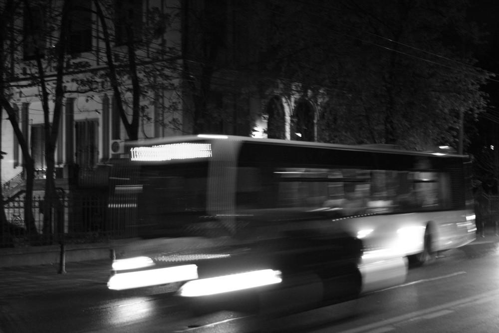 En attendant le bus