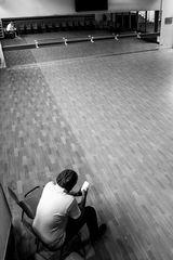 En attente des danseuses.