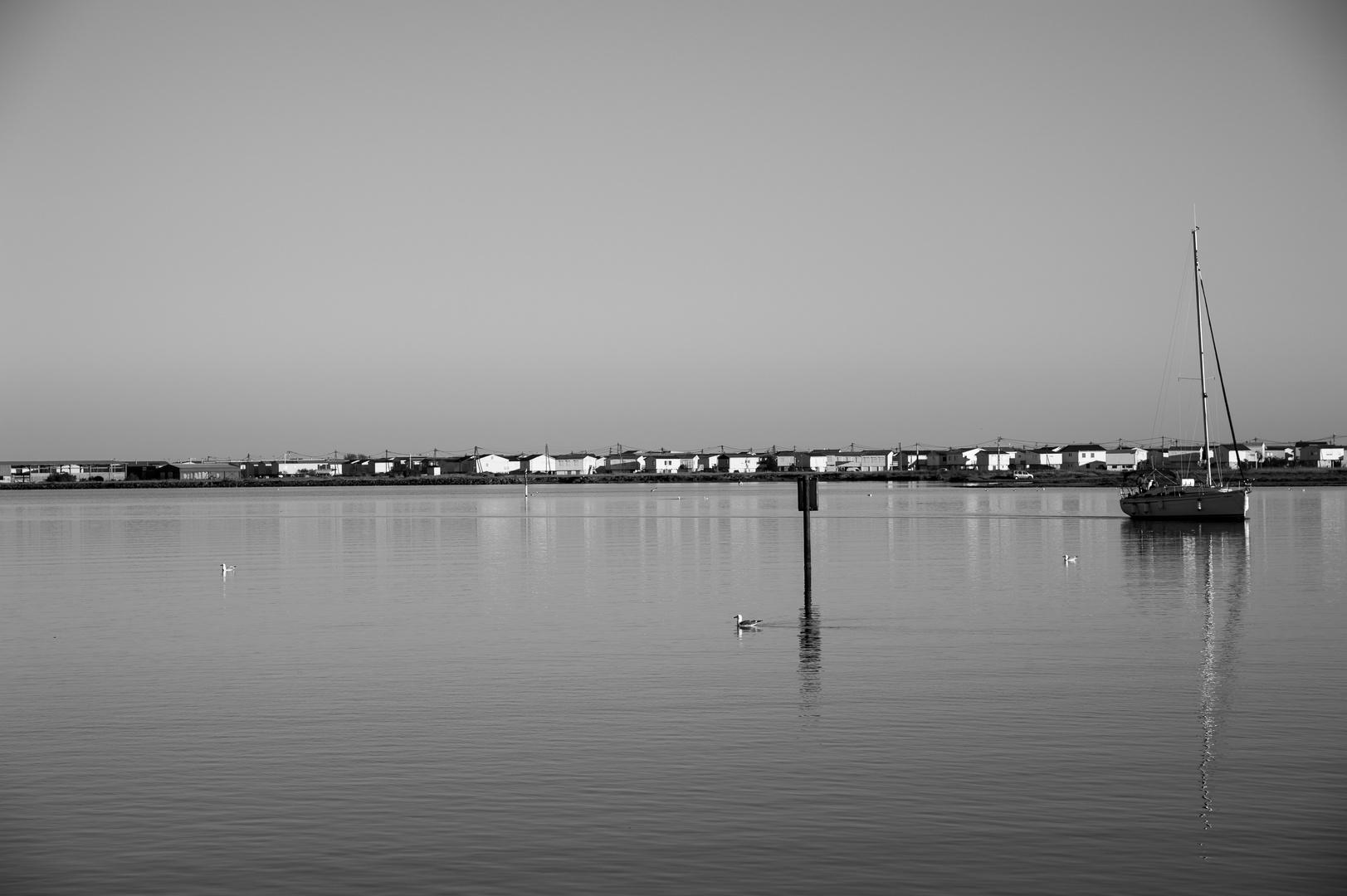 En direction du port