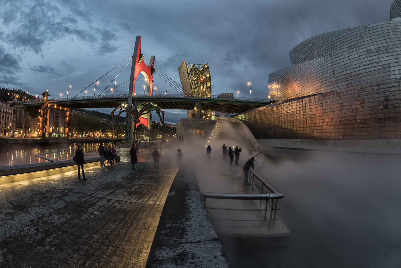 En el Guggenheim