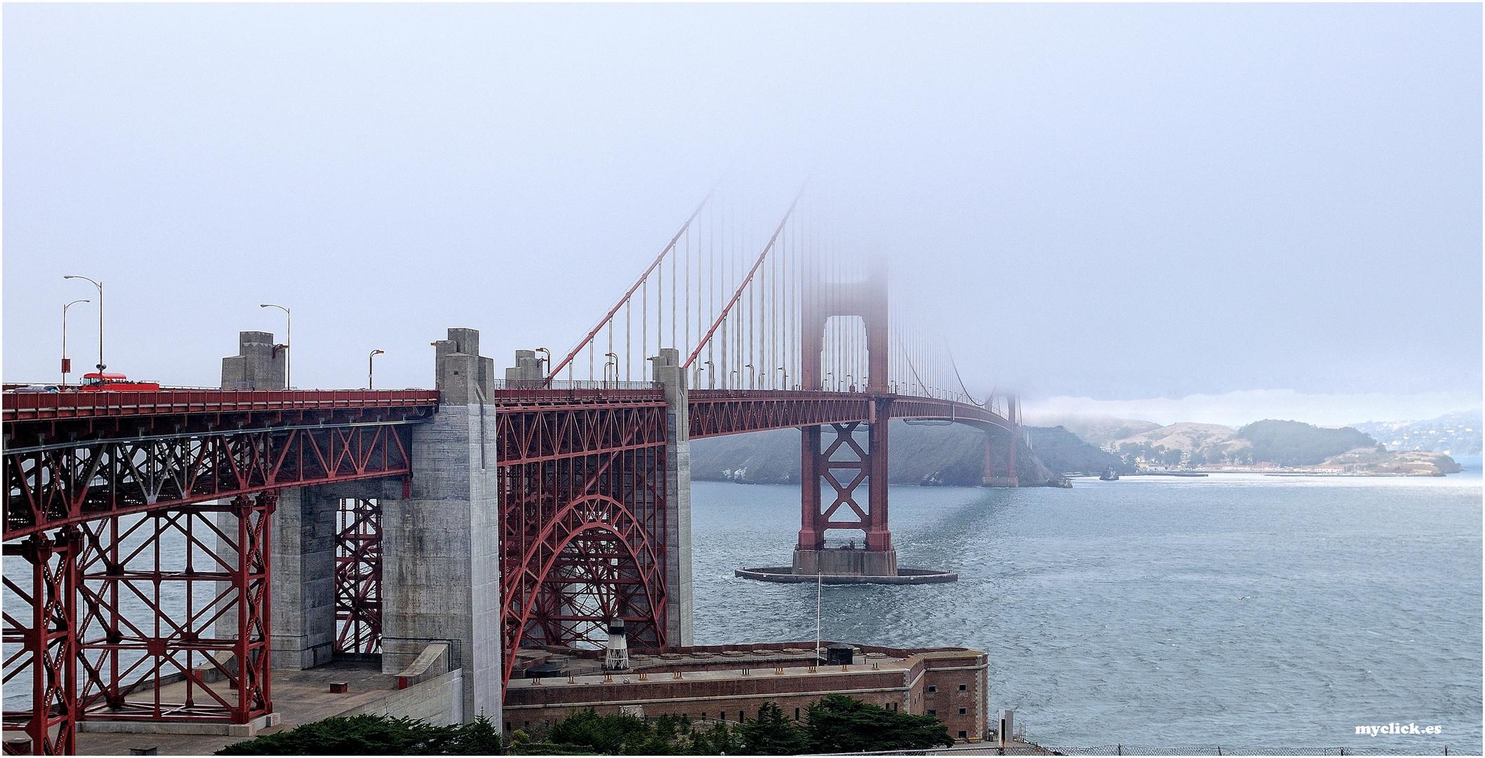 EN EL LEJANO OESTE-EL GOLDEN GATE SAN FRANCISCO