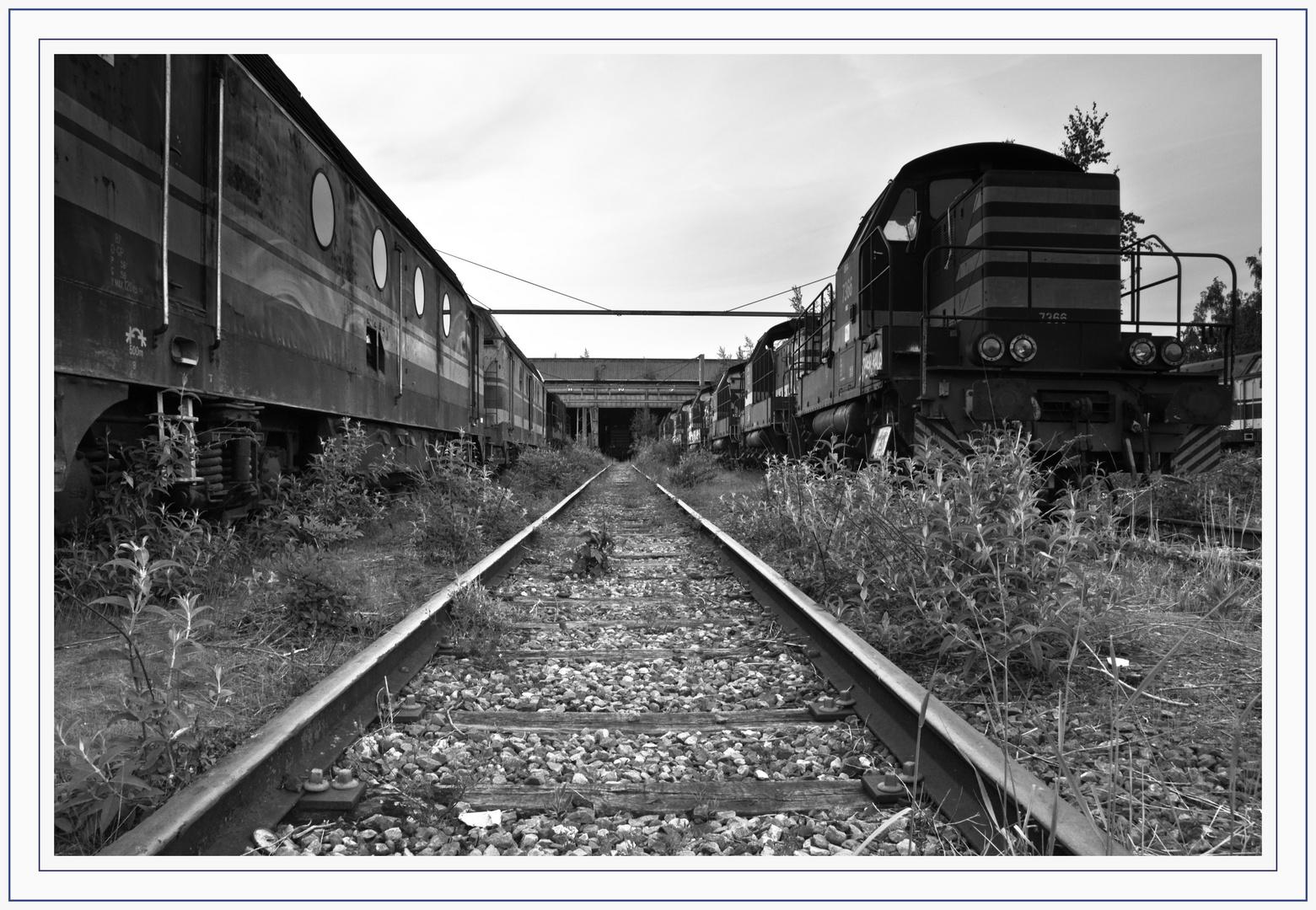 En gare
