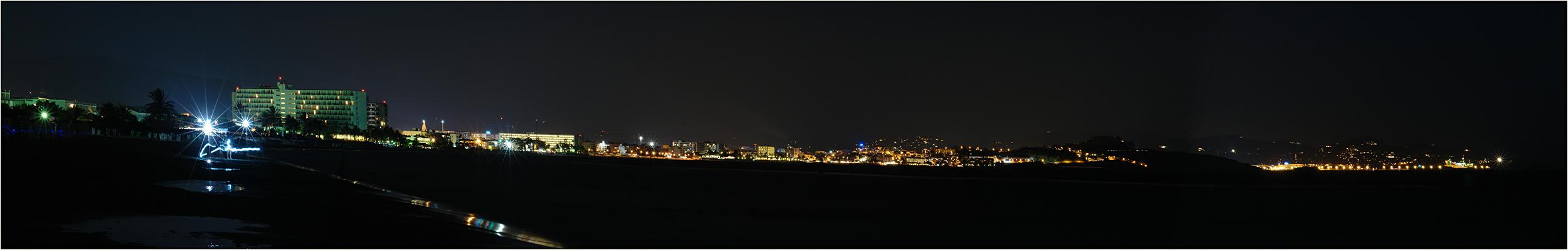 __ en la noche __