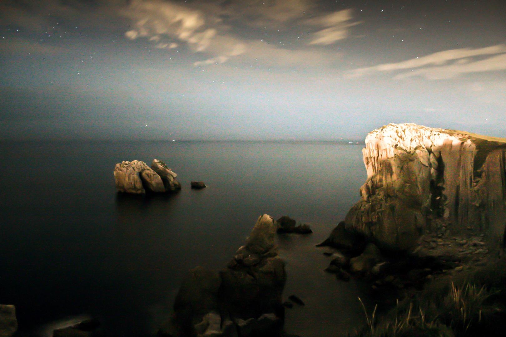 En la oscuridad de la costa