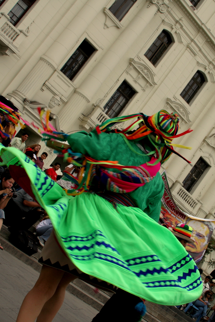 en la Plaza San Martin