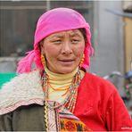 EN LA RUTA DE LA SEDA GENTE DE XIAE-CHINA
