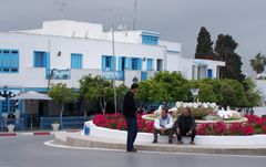 En passant à Sidi Bou Saïd ....