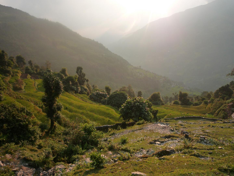 En route pour l'Annapurna