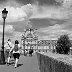En route pour le Louvre