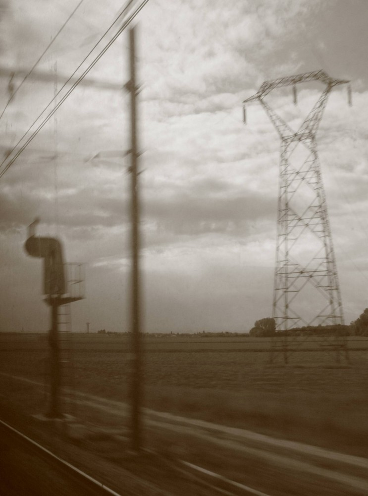 en train...