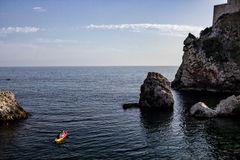 En un bote por Dubrovnik -I