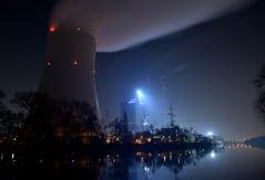 ENBW-Kraftwerk Heilbronn / Neckar