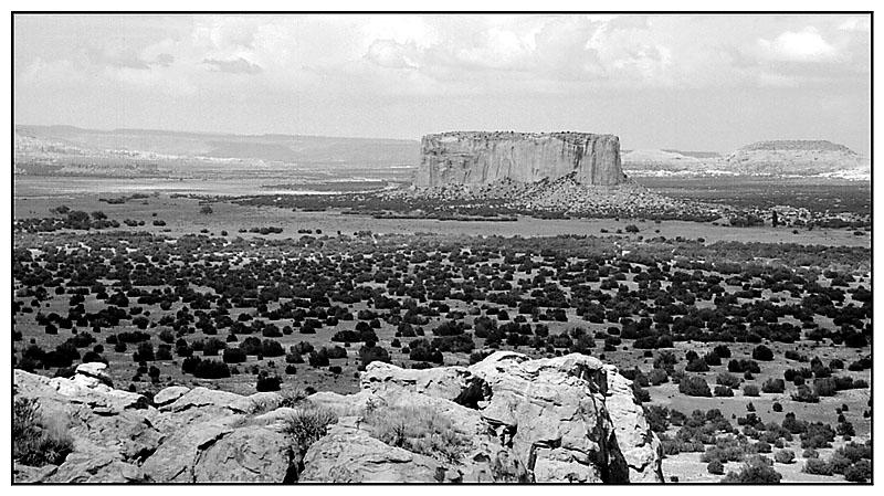 Enchanted Mesa - Acoma Pueblo, New Mexico; USA