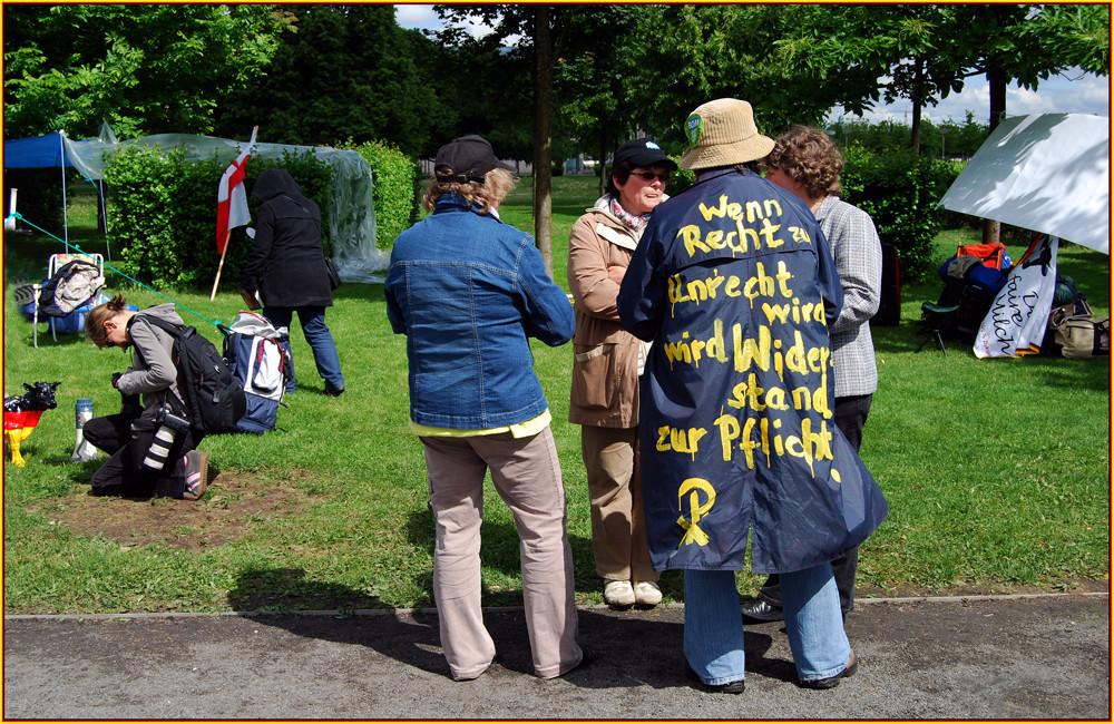 """"""" Ende der Proteste der Milchbäuerinnen """" ( 2 )"""