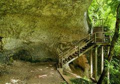 Ende des Grottenweges