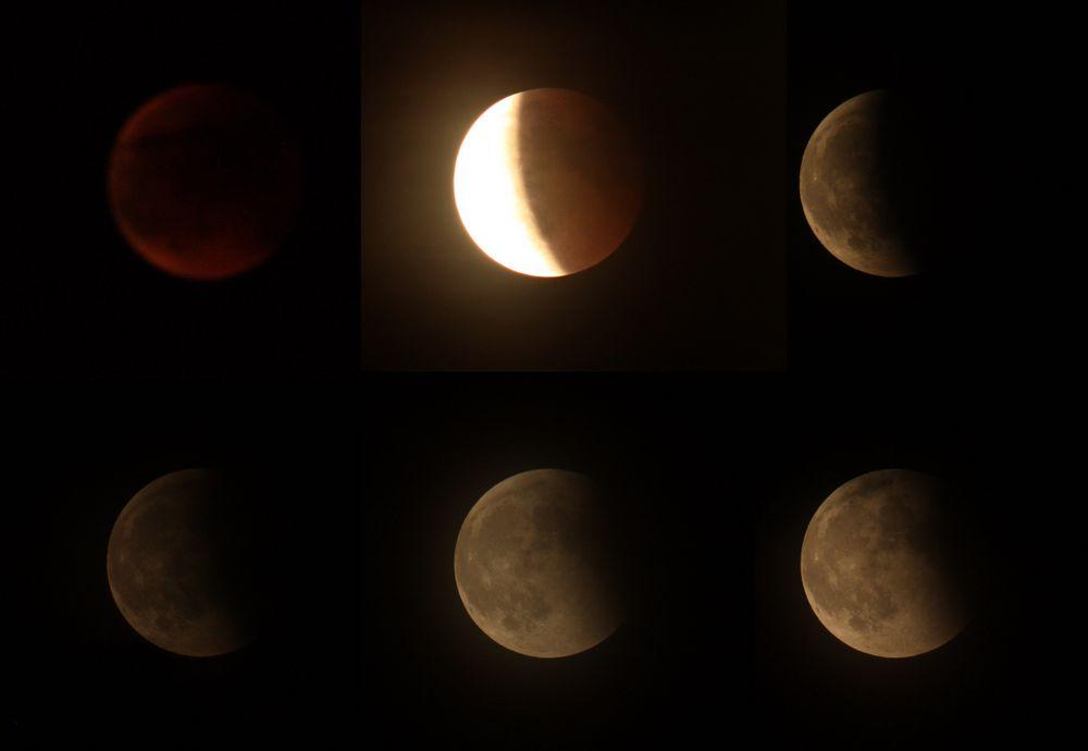 Ende des Mondfinsternises 15.06.2011