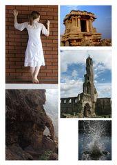 """""""Ende des Weges"""" Collage"""