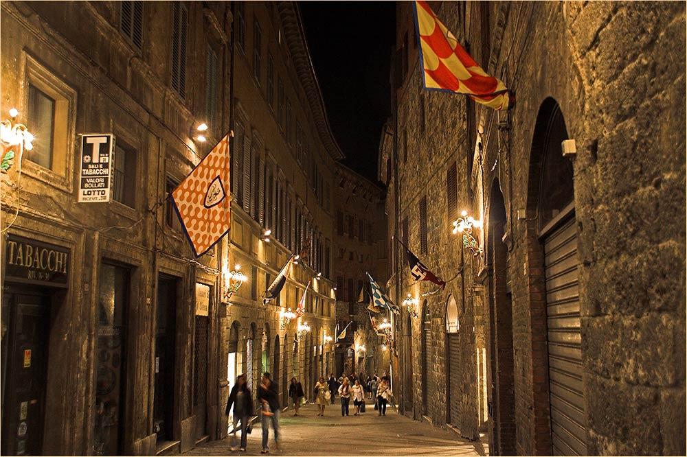 Endlich Feierabend in Siena