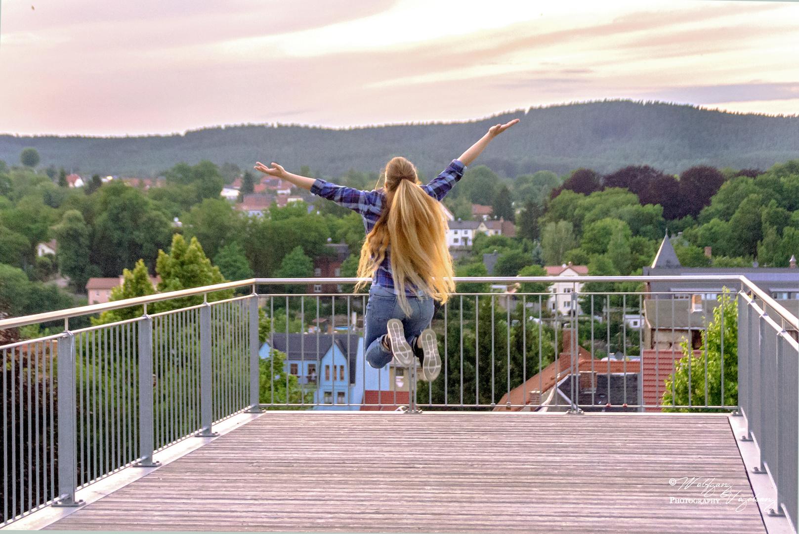 Endlich frei sein und das Leben genießen