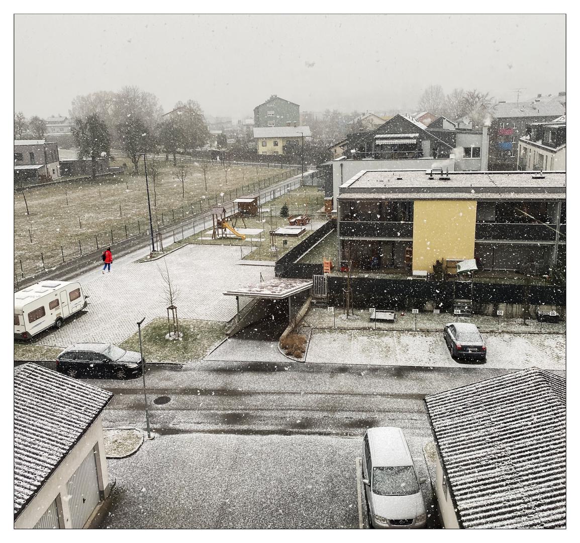 endlich Schnee!