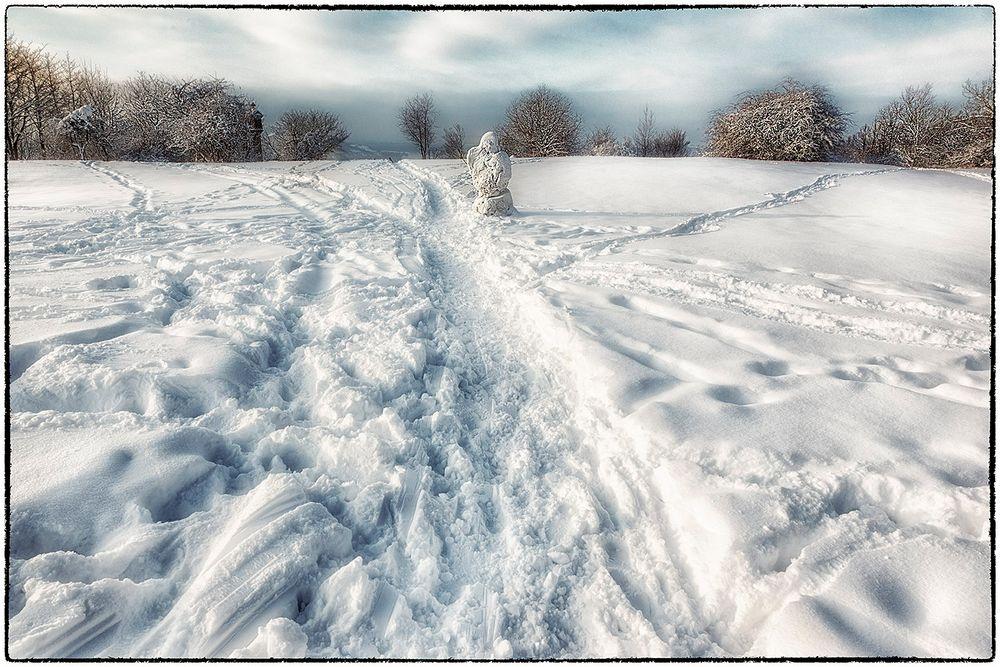 Endlich Winter ....