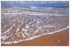 ...endloses Spiel der Wellen...- salziger Schaum...