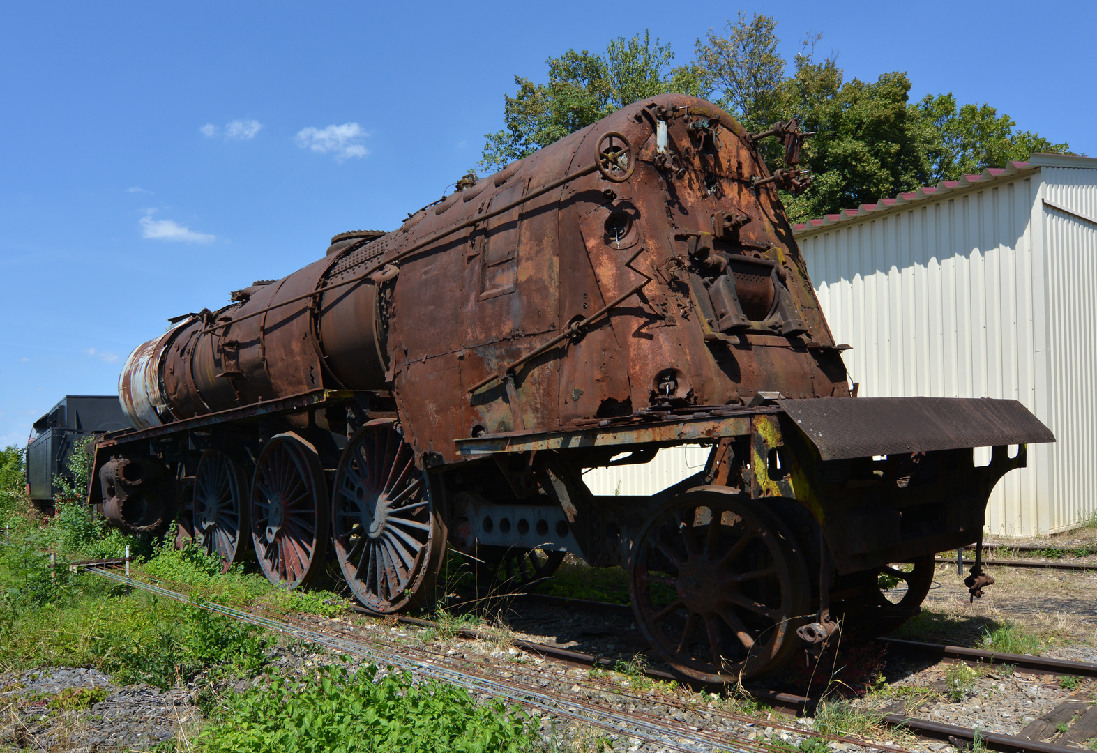 Endstation Eisenbahnmuseum Nördlingen