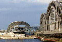 Endstation Freihafenbrücke..