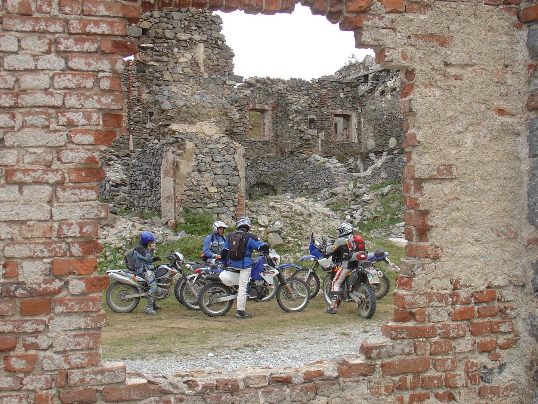 Endurowandern an der Ligurischen Grenzkammstraße