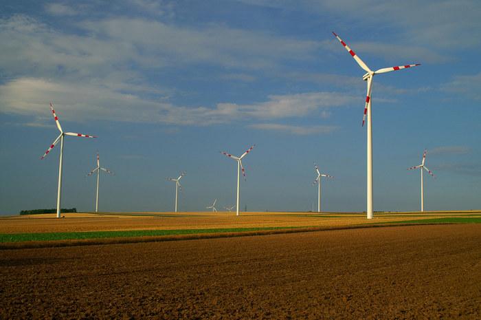 Energie des Windes