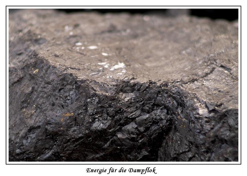Energie für Dampflok