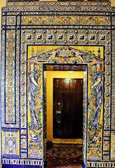 Enfilade à la casa Lebrija de Séville