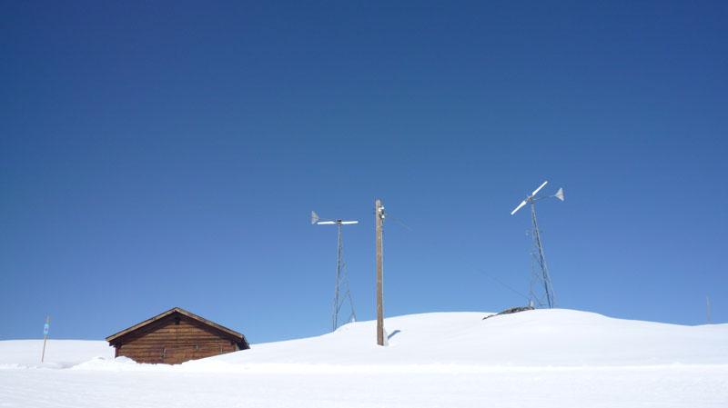 Engadina: aspettando il vento 2009