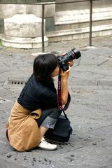 ... engagierte Fotografin ...