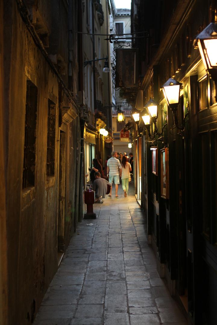 Enge Gassen von Venedig
