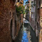 Enge Kanäle - Venedig -